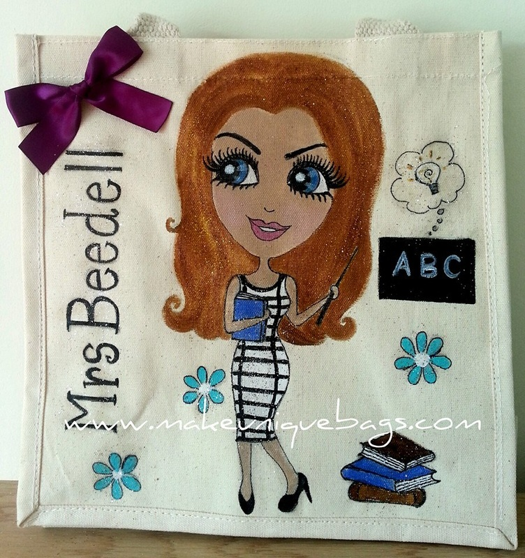 Personalised Bag Canvas Bag - Dollybags